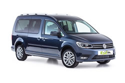 VW Caddy 7 persons